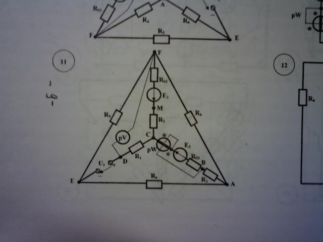 Расчёт линейной электрической цепи постоянного тока.